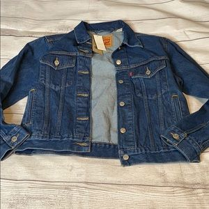 Small ex-Boyfriend Levi's trucker jacket